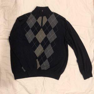 Tasso Elba Argyle Sweater